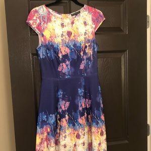Cap Sleeve Summer Dress